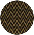rug #648957 | round mid-brown retro rug