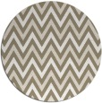rug #648981 | round mid-brown retro rug