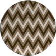 rug #648993 | round beige retro rug