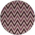 rug #648997 | round pink retro rug