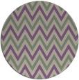 rug #649021 | round purple retro rug