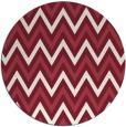 rug #649053 | round pink rug