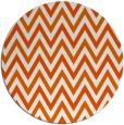 rug #649109 | round red-orange retro rug