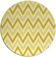 rug #649117   round white retro rug
