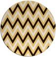 rug #649139 | round retro rug