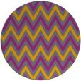 rug #649156 | round retro rug
