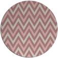 rug #649181   round pink rug