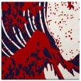 rug #649785 | square red natural rug
