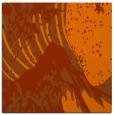 rug #649801 | square red-orange graphic rug