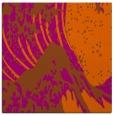 rug #649809 | square red-orange graphic rug