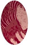 rug #650113 | oval natural rug