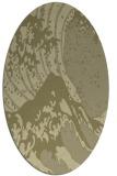rug #650221 | oval light-green rug