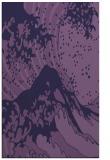 rug #650345 |  purple graphic rug