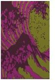 rug #650477 |  purple graphic rug