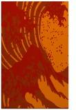 rug #650493 |  orange graphic rug