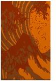 rug #650505    red-orange graphic rug