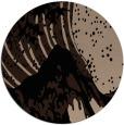 rug #650613 | round black natural rug