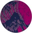 rug #650629 | round pink rug