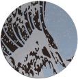 rug #650713 | round blue-violet rug