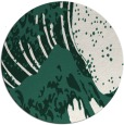 rug #650733 | round green rug