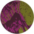 rug #650829   round purple rug
