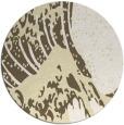 rug #650893   round white natural rug
