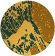 rug #650905 | round light-orange natural rug