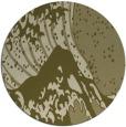 rug #650933 | round light-green natural rug