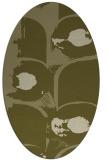 rug #651989 | oval natural rug
