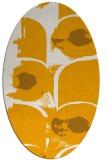 rug #651993   oval light-orange natural rug