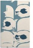 rug #652033 |  white abstract rug
