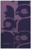 rug #652105 |  purple abstract rug