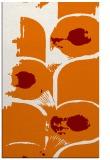 rug #652201 |  orange abstract rug