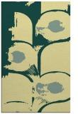 rug #652213 |  yellow abstract rug
