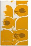 rug #652345 |  light-orange abstract rug