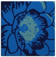 rug #654993 | square blue graphic rug
