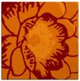 rug #655013 | square orange natural rug