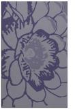 rug #655617 |  blue-violet natural rug