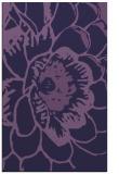 rug #655625 |  purple natural rug