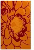 rug #655717 |  orange graphic rug