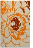 rug #655845 |  orange graphic rug