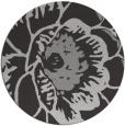 rug #656081 | round red-orange graphic rug