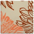 rug #656781 | square orange natural rug
