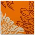 rug #656901 | square orange rug