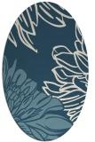 rug #656964 | oval natural rug