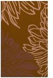 rug #657433 |  brown graphic rug