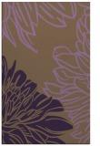 rug #657521 |  purple natural rug