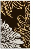 rug #657585 |  brown graphic rug