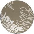 rug #657641 | round beige natural rug