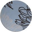 rug #657753 | round graphic rug